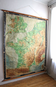 "ANCIENNE CARTE ""FRANCE BENELUX"""
