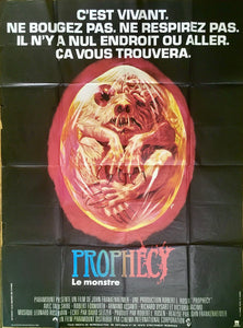 "AFFICHE ""PROPHECY. LE MONSTRE"" (grand format)"
