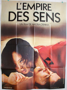 "AFFICHE ""L'EMPIRE DES SENS"" (grand format)"