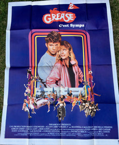 "AFFICHE ""GREASE 2"" (grand format)"
