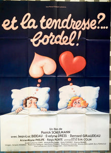 "AFFICHE ""ET LA TENDRESSE?... BORDEL!"" (grand format)"
