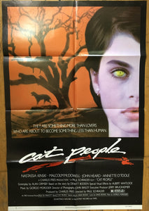 "AFFICHE ""LA FELINE (CAT PEOPLE)"" (format moyen)"