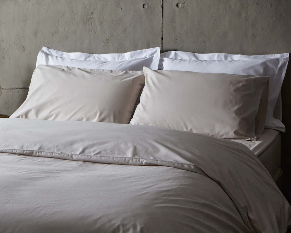 beige fitted sheets