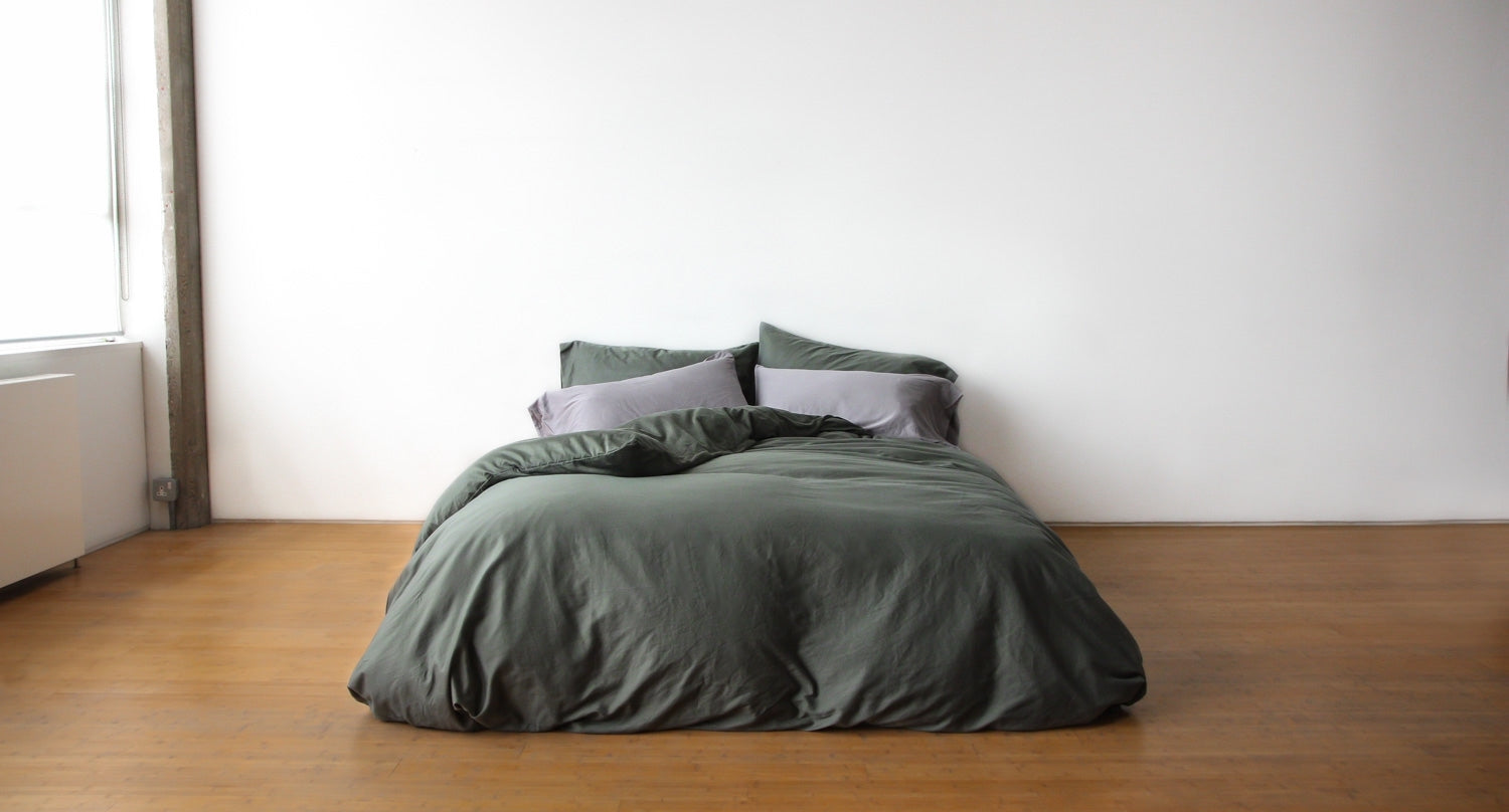 washed cotton bedding collection