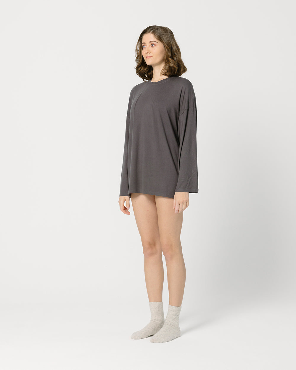 Dark Grey Oversize T-Shirt