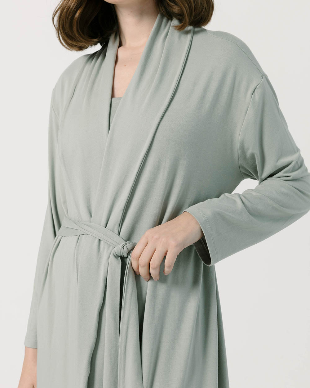 Sage Green Women's Robe
