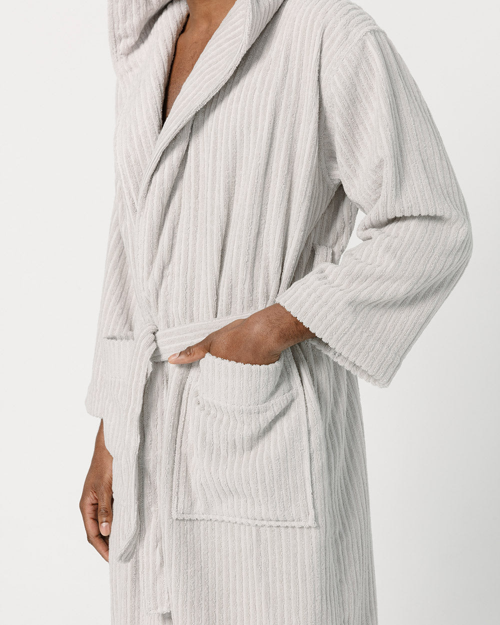 Cloud Grey Bathrobe