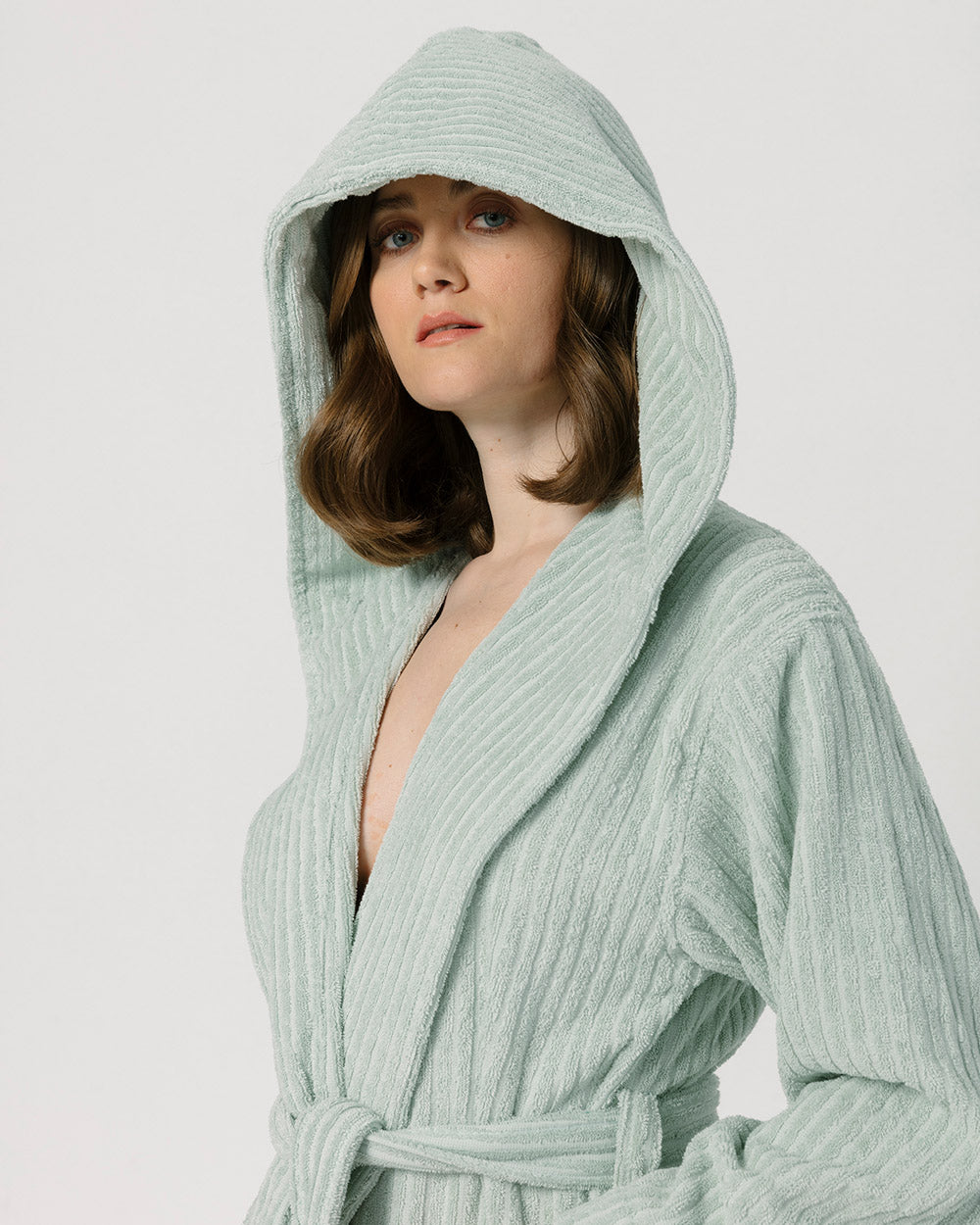 Sage Green Bathrobe