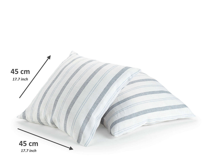 white linen decorative scatter cushion sizes