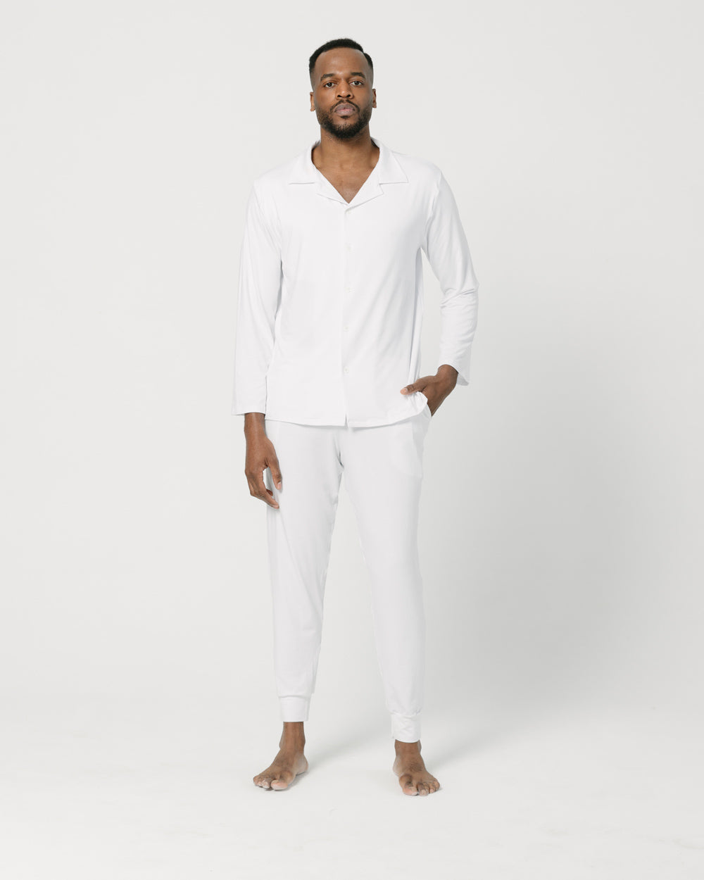 White Lounge Shirt