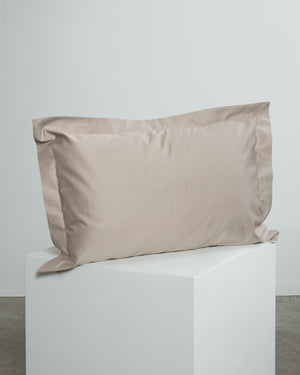 Beige Oxford Pillowcases