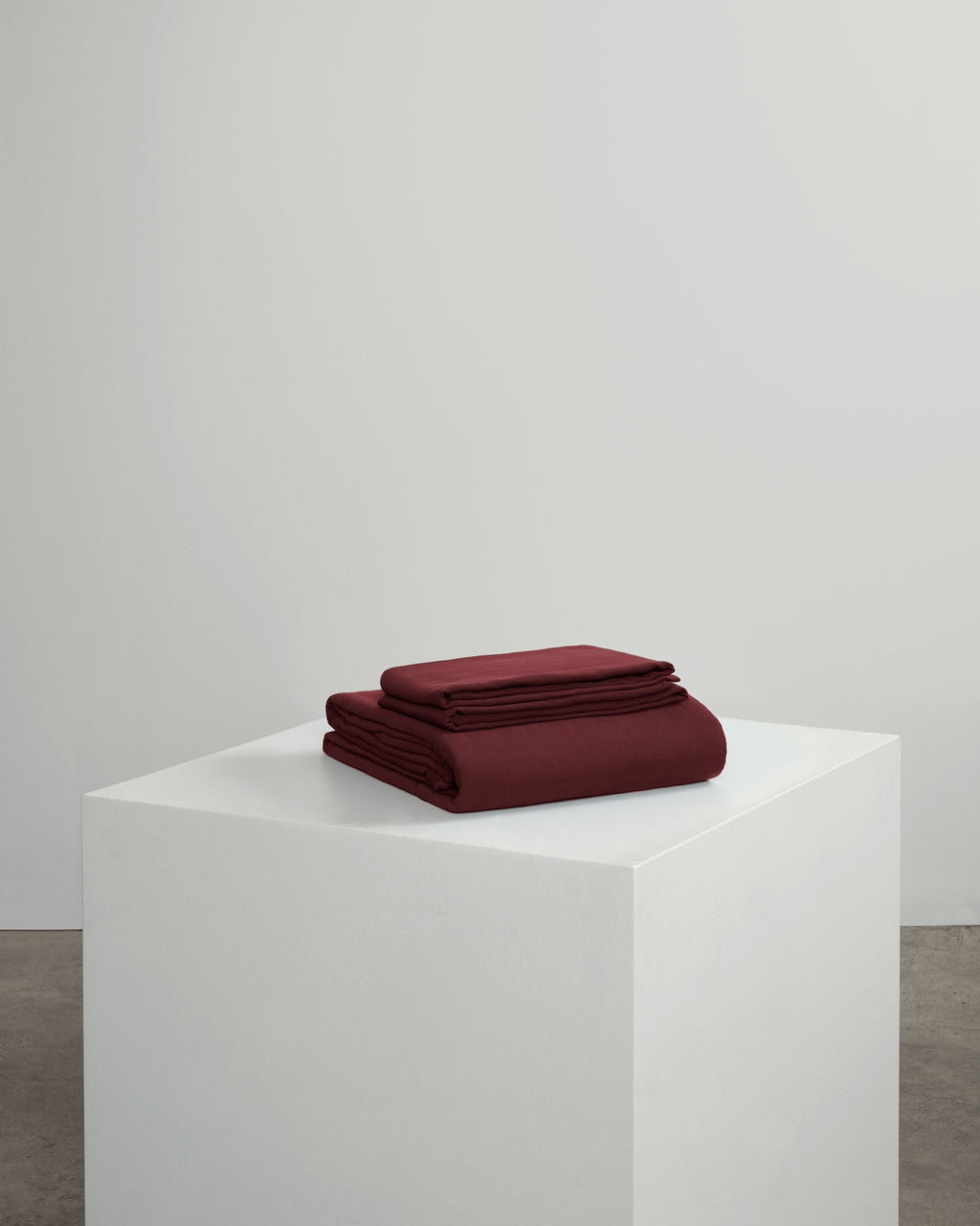 Burgundy Duvet Set