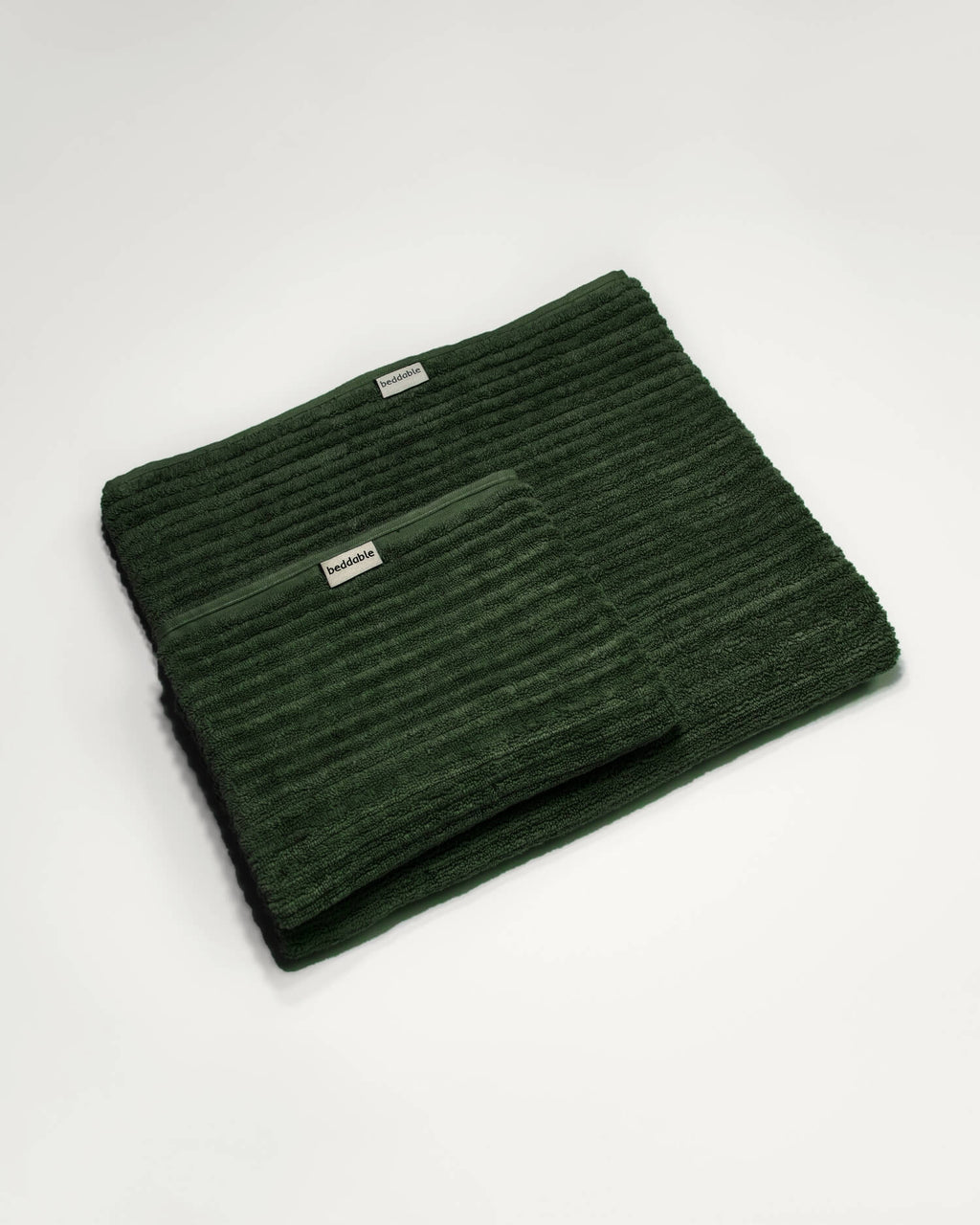 Dark Green Towels