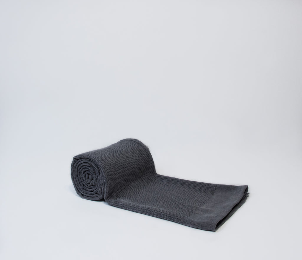 dark grey hammam towels