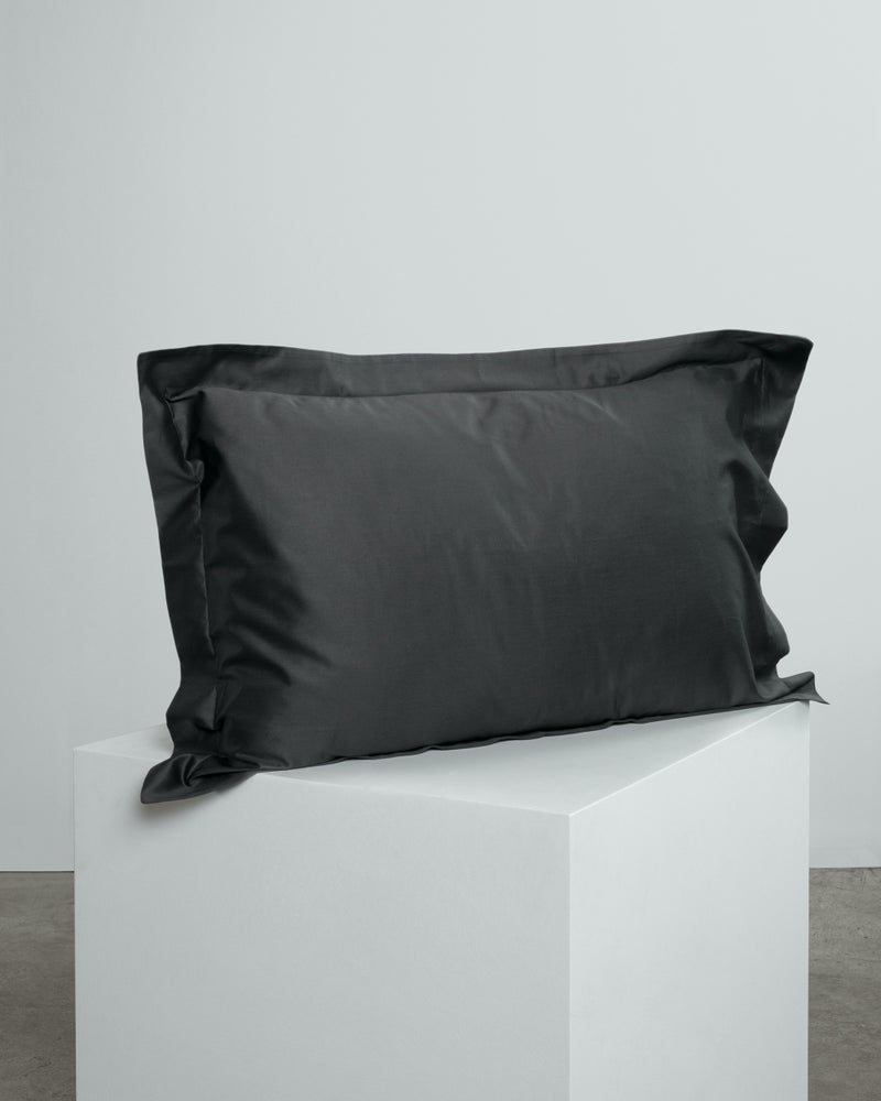Dark Grey Oxford Pillowcases