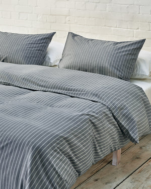 Graphite Blue Striped Move-in Set