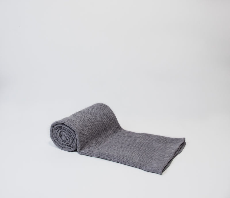 light grey hammam towel
