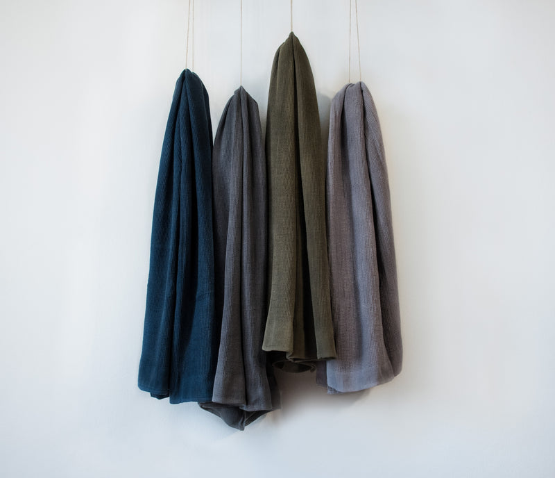 hammam towels hanging