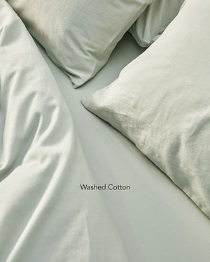 light green washed cotton bedding texture