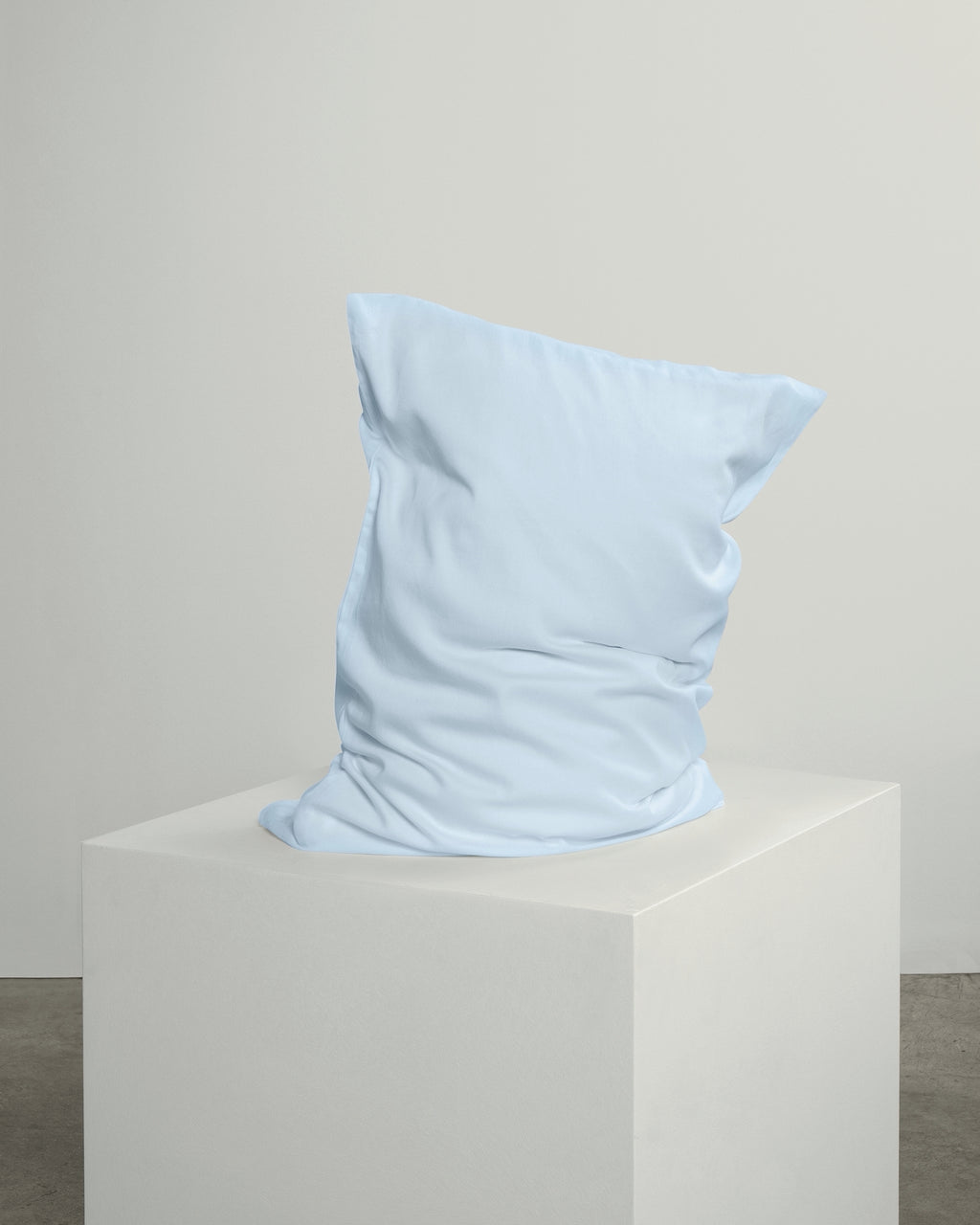 Ice Blue Pillowcase Pair