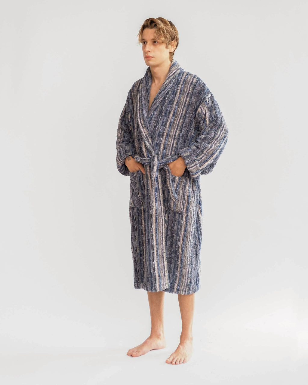 Marbled Bathrobe