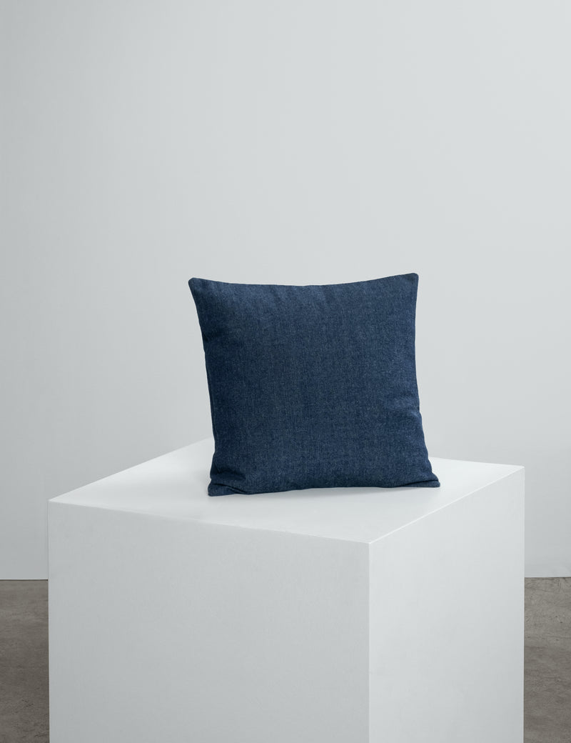Navy Denim Cushions