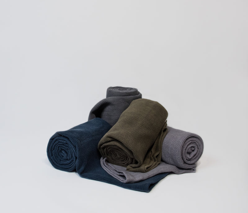 hammam towels in four colours