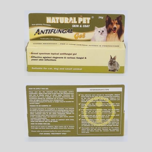 Natural Pet AntiFungal (comes in Gel and Lotion) - ShopFawU