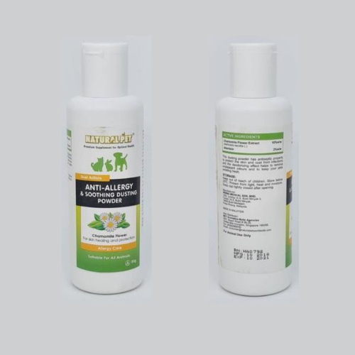 Natural Pet Anti-Allergy & Soothing Dusting Powder - ShopFawU