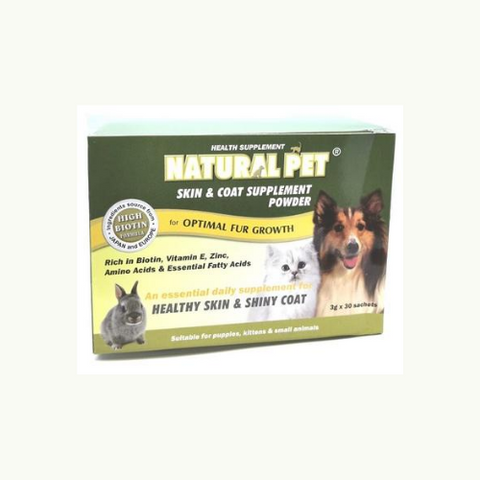 Natural Pet Skin & Coat Supplement Powder - ShopFawU