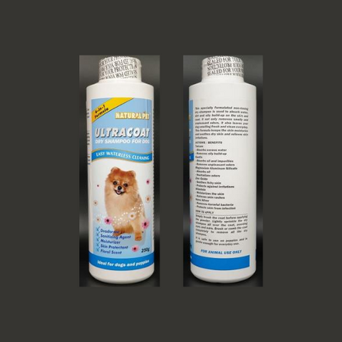 Natural Pet Ultracoat Dry Shampoo for Dog - ShopFawU