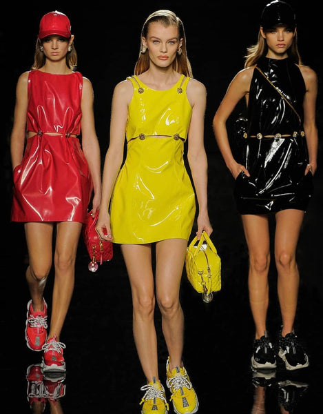 Versace's First Ever Fashion Show In New York