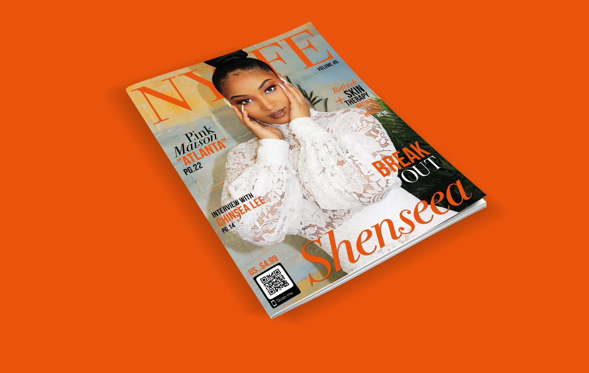 Shenseea  Volume 6 Print Copy
