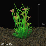 Aquarium Artificial Plants Submersible Aquatic Fish Tank  Ornament Plant Aquatic Water Grass