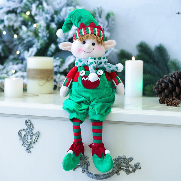 Christmas Elf Doll For Christmas Decoration