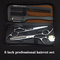 Professional Hairdressing Scissors Hair Cutting Scissors Barber Shears Set