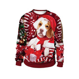 Womens Winter Christmas Print Sweatshirt - Rictons