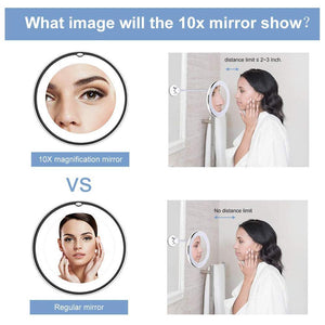Magnifying Makeup Vanity Mirror
