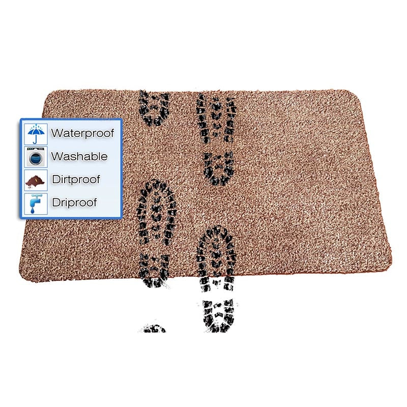 Magic Super Absorbent Mat Cleaning Fast Drying Non Slip Door