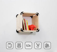 Load image into Gallery viewer, S1 Wall fixing Kit - Fir Wood