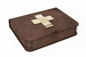 Wooden Pill Box, Your Home Pill Organizer, First Aid Kit, Pill Box Storage