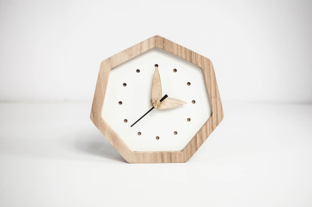 Desk Clock, Wood Clock, Table Clock, Desk Clocks Gifts, Rustic clock, Desk Gift For Her, Desk Gift Wooden, Desk Decor, Desk Decor Clock