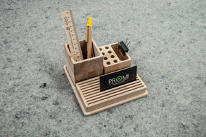 Desk Organizer, Pen Holder, Boyfriend Christmas Gift, Brush Holder, Desk Accessories, Kids Desk