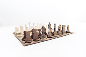 Chess Set, Chess, Chess Board, Checkers, Board Game, Board Games, Board Game Table, Toddler Gift, Travel Game, Travel Gift, Christmas Gift