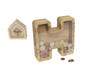 Load image into Gallery viewer, Money Box, Piggy Bank,  Personalized Bank,Large Money Box, Coins, Money Box For Kids