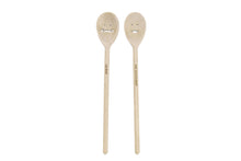 Load image into Gallery viewer, Wooden Spoons, SET OF 2, 5th Anniversary, Mr And Mrs, Newlywed Gifts,Wedding Shower Gift