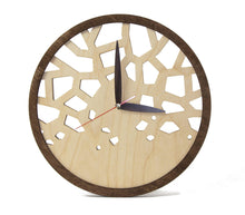 Load image into Gallery viewer, Unique Wall Clock,  Wooden Clocks, Rustic Home Decor, Wall Clock