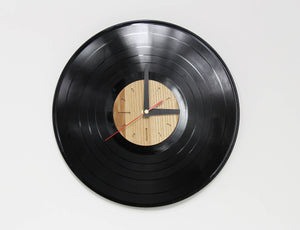 Vinyl clock, Wall clocks, Wall clocks wood, Vinyl, Wood clock modern, Moving gifts, Wood clock gift, Gift for parents, Moving away gift