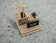 Load image into Gallery viewer, Desk organiser - Pencil holder organizer - Desk organizer gift  - Desk organizer ideas