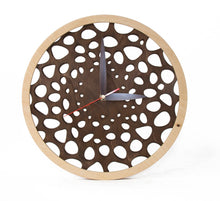 Load image into Gallery viewer, Wooden Wall Clock, Wooden Clocks, Rustic Clock, Unique Wall Clock, Wedding Gift